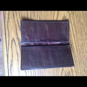 Coach Bags - Coach checkbook holder